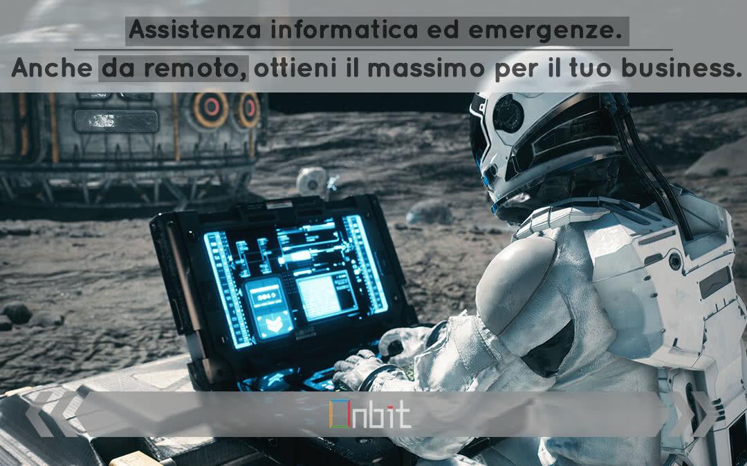 Assistenza informatica ed emergenze. Anche da remoto, ottieni il massimo per il tuo business