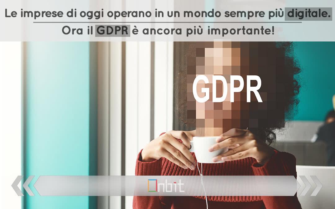Le imprese di oggi operano in un mondo sempre più digitale. Ora il GDPR è ancora più importante!