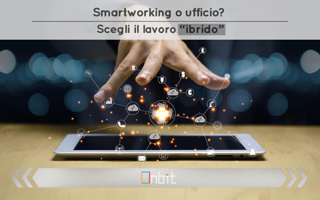"""Smartworking o ufficio? Scegli il lavoro """"ibrido"""""""